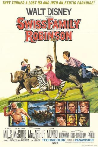 Swiss Family Robinson Masterprint