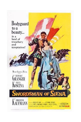 Swordsman of Siena Giclee Print