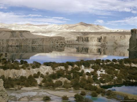 Band-I-Amir Lakes, Afghanistan Photographic Print