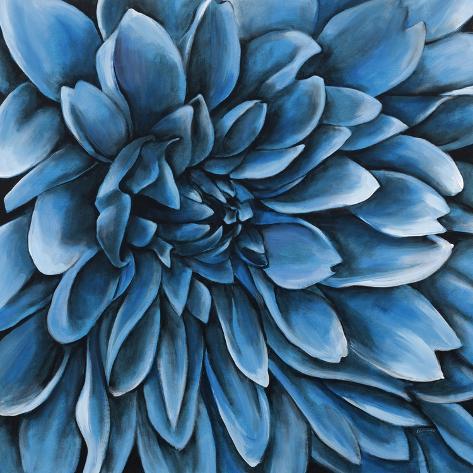 Turquoise Bloom Giclee Print