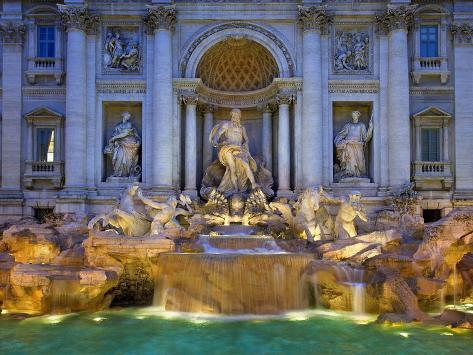 Trevi Fountain Photographic Print