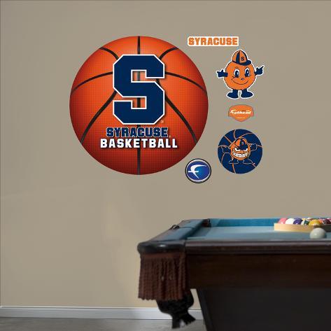 syracuse university basketball logo wall decal allpostersca