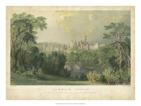Alnwick Castle Giclee Print