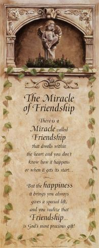 Miracles of Friendship Art Print