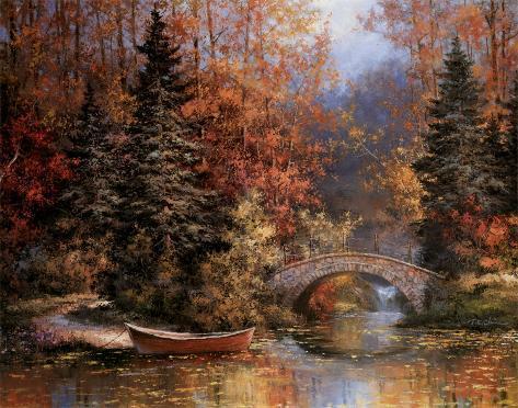 Woodland Splendor Art Print