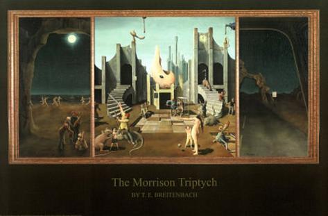 T.E. Breitenbach (The Morrison Triptych) Art Poster Print Poster