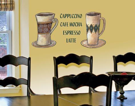 Coffee Duo Wall Decal