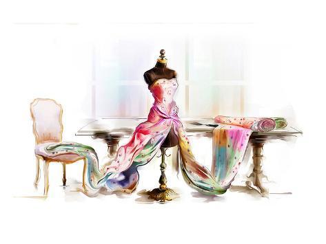 table top mannequin Art Print