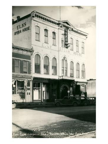 Tabor Opera House, Leadville, Colorado Art Print