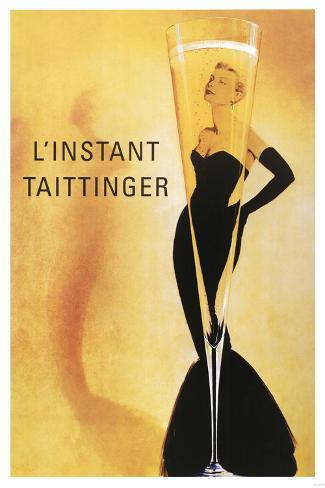 Taittinger Poster