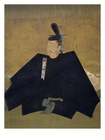 Taira No Shigemori, Illustration in 'Kokka' Magazine, November 1903 (Colout Litho) Stretched Canvas Print