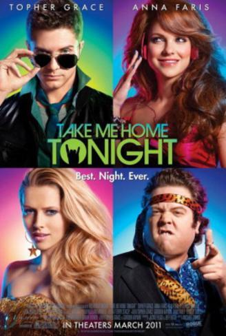 Take Me Home Tonight (Topher Grace, Anna Faris, Teresa Palmer) Movie Poster Double-sided poster