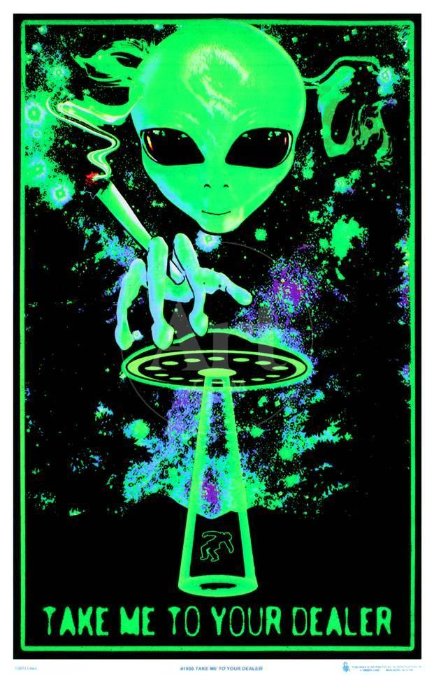 Take Me To Your Dealer College Blacklight Poster Posters At AllPosters