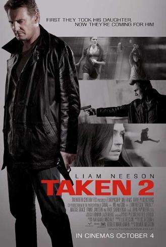 Taken 2 Movie Poster Masterprint