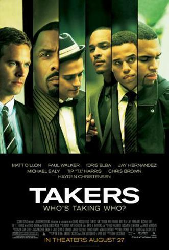 Takers Double-sided poster