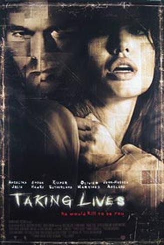 Taking Lives Double-sided poster