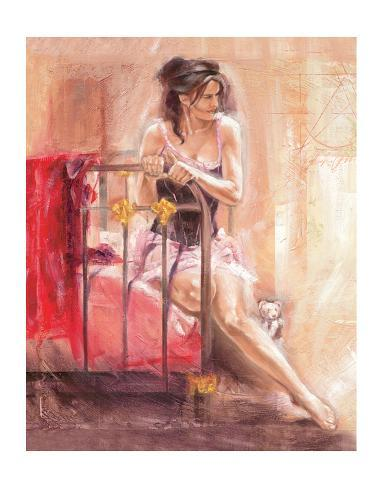 Dainty Moments Art Print