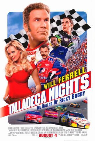 Talladega Nights Stampa master