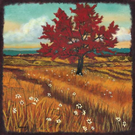 Distant Fields I Art Print