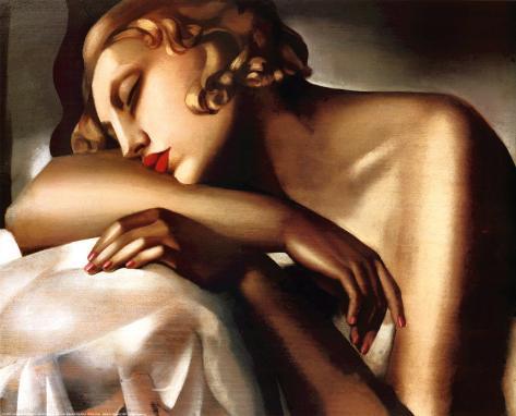 Dormeuse, c.1932 Art Print