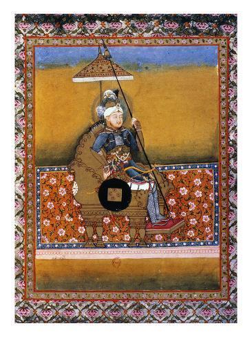 Tamerlane (1336?-1405) Stretched Canvas Print