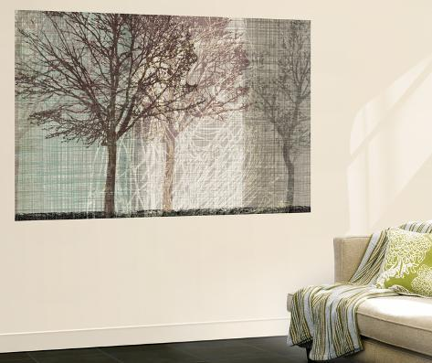 Before winter wall mural by tandi venter for Winter wall murals