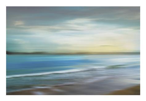 Ocean Plains Art Print