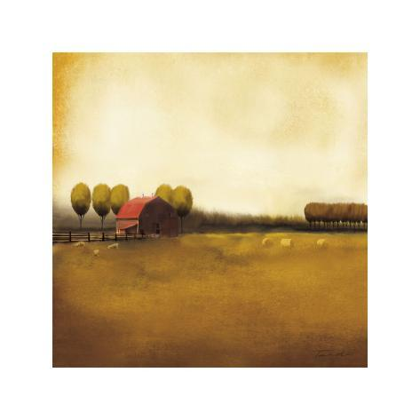 Rural Landscape II Giclee Print