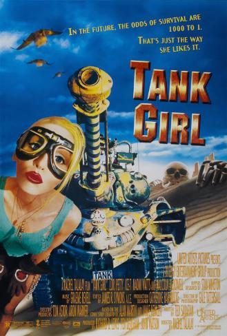 Tank Girl Poster
