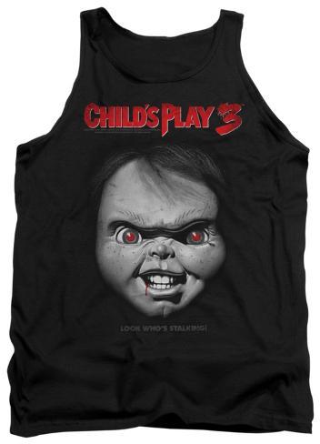 Tank Top: Child's Play 3 - Face Poster Tank Top