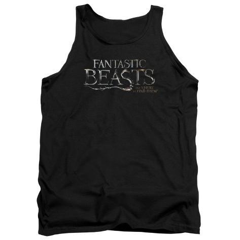 Tank Top: Fantastic Beasts- Movie Logo Tank Top