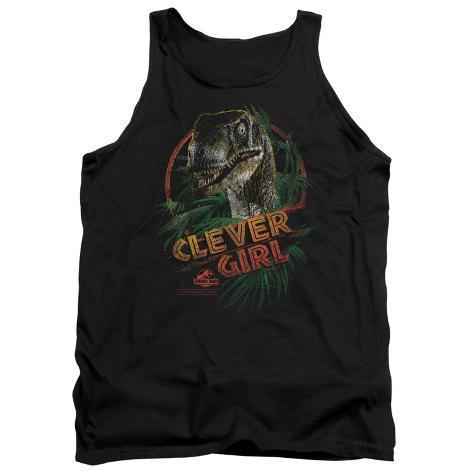 Tank Top: Jurassic Park - Clever Girl Tank Top