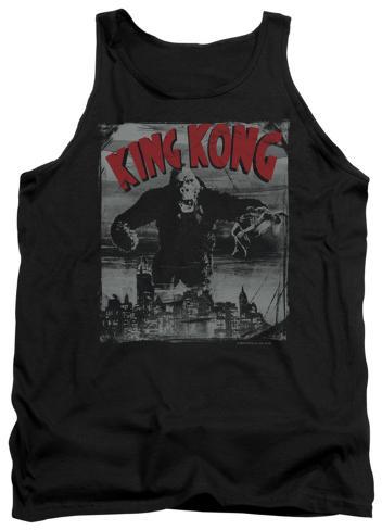 Tank Top: King Kong - City Poster Tank Top
