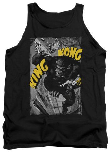 Tank Top: King Kong - Crushing Poster Tank Top