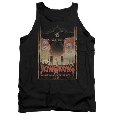 Tank Top: King Kong- Eighth Wonder Of The World Tank Top