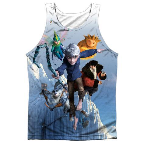 Tank Top: Rise Of The Guardians- Together Now (Black Back) Tank Top