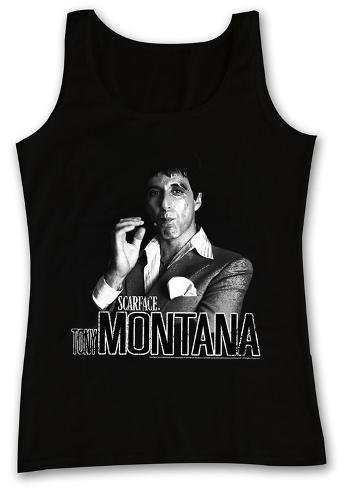 Tank Top: Scarface - Tony Camiseta sin mangas