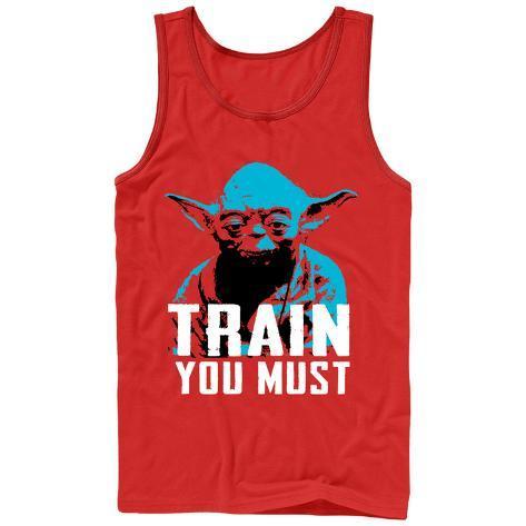 Tank Top: Star Wars: Yoda- Train You Must Regata