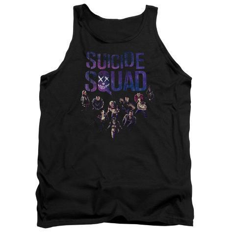 Tank Top: Suicide Squad- Class Photo Tank Top