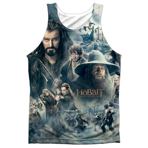Tank Top: The Hobbit: The Battle Of The Five Armies- Epic Poster Tank Top