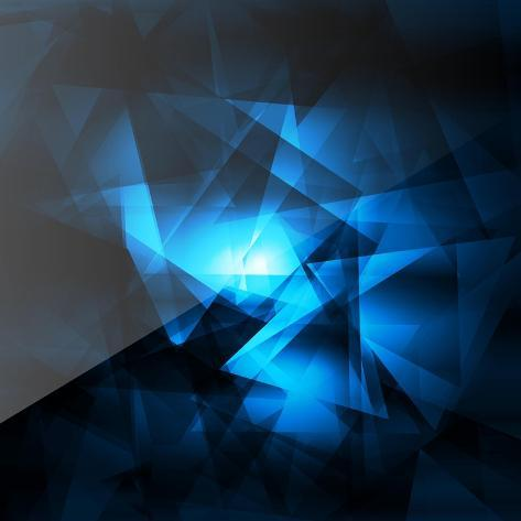 Abstract Geometrical Background Art Print