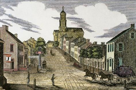 Washington, 1843. Giclée-vedos