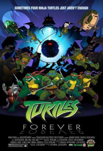 Tartarugas Ninja Impressão original