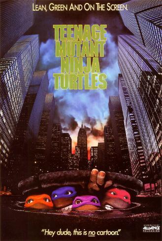 Tartarugas Ninja Pôster