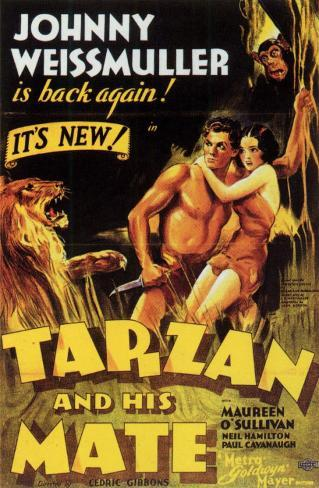 Tarzan and His Mate Masterprint