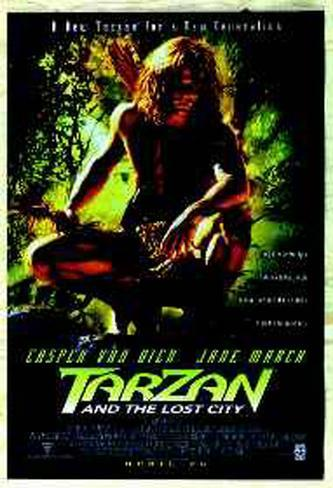 Tarzan And The Lost City Original Poster
