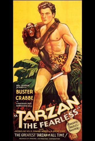 Tarzan the Fearless ポスター
