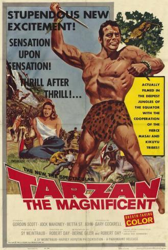 Tarzan the Magnificent Poster