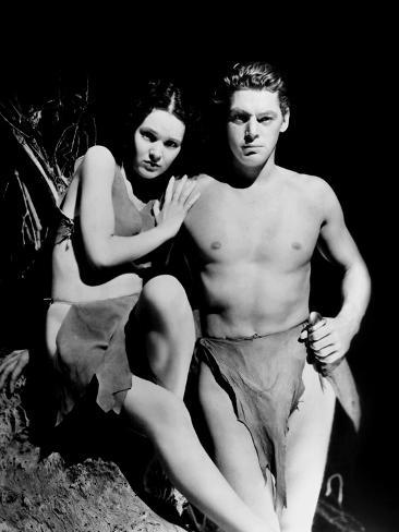 Tarzán y su compañera|Tarzan and his Mate Fotografía