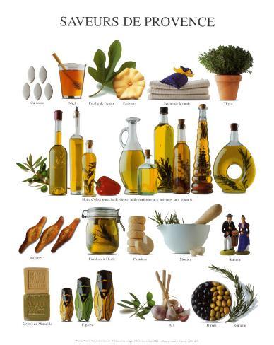 Taste of Provence Art Print